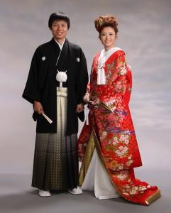 kimono çift